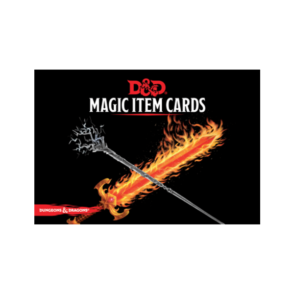 D&D Magic Item Card Deck (292 cards)